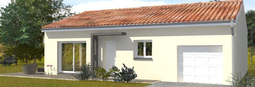 construction d'une maison moderne à Toulouse