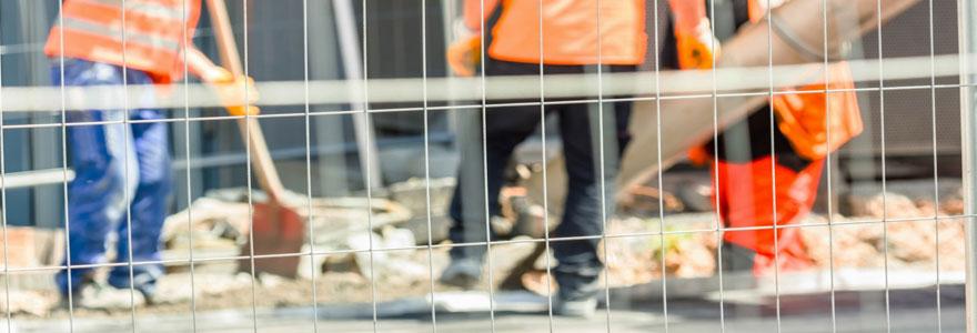 grilles de chantier