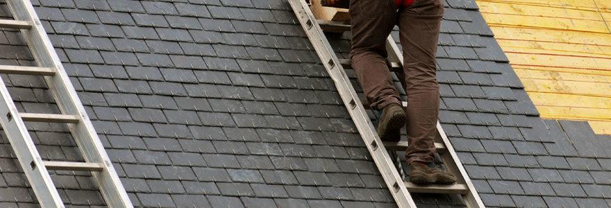 Installer son échelle de toit