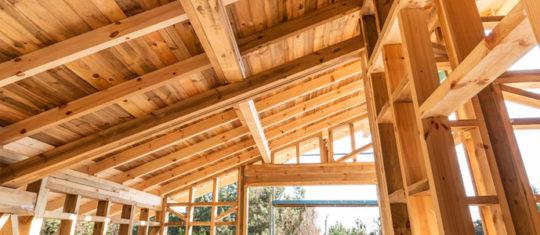 Constructions à ossature en bois