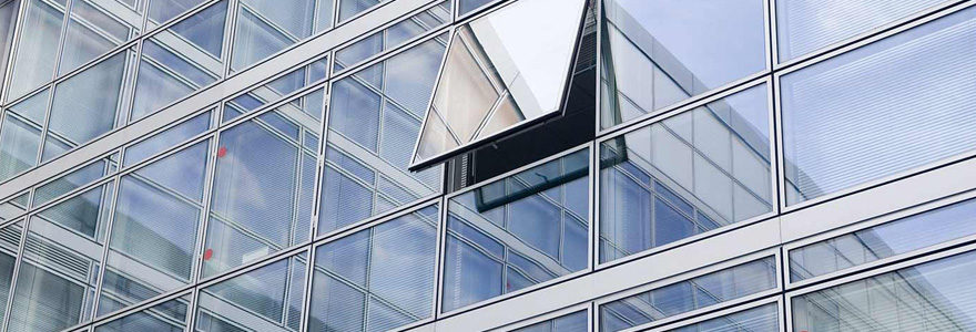 aluminium dans le bâtiment
